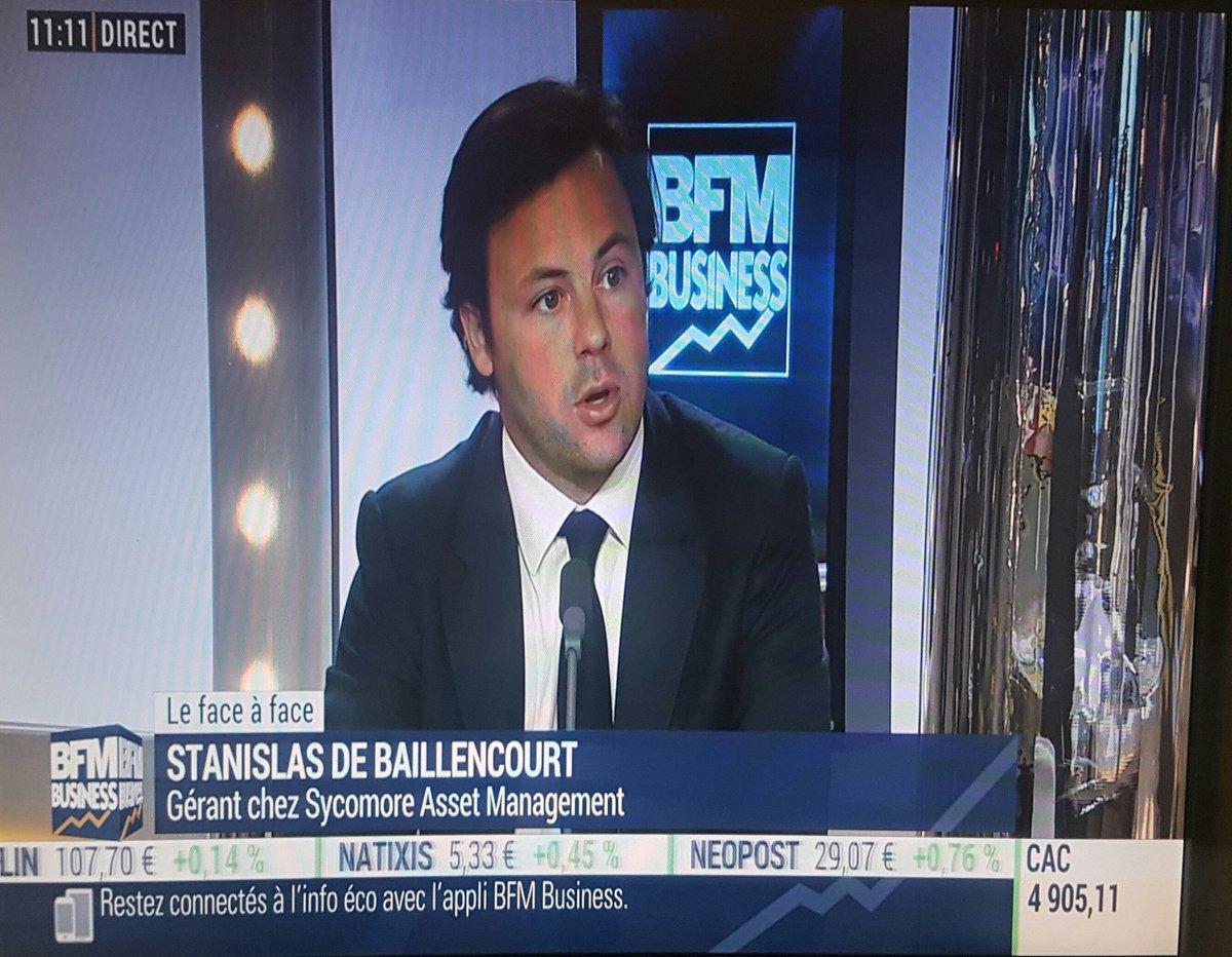 Interview sur #bfmbusiness de @standebaill de @SycomoreAM  Sur le dcryptage de l actualité.<br>http://pic.twitter.com/jUCMFYe7h5