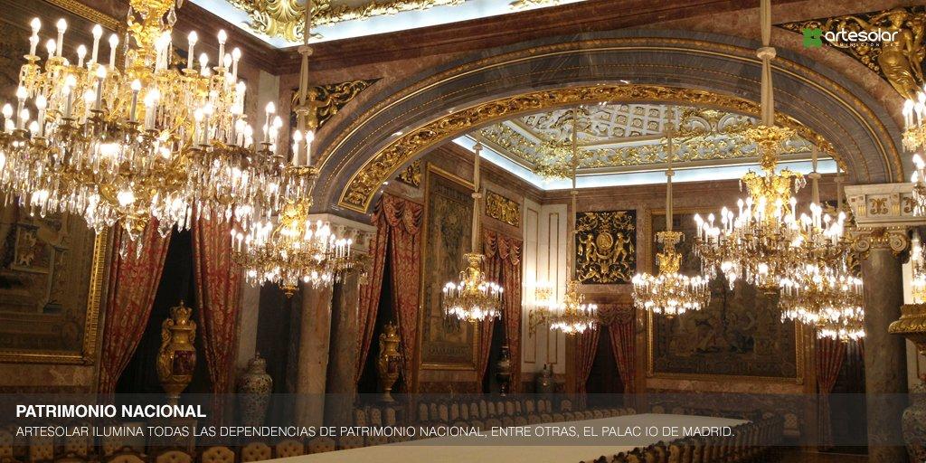 ARTESOLAR ilumina todas las dependencias de Patrimonio Nacional con tecnología #LED aportando luz a nuestra historia <br>http://pic.twitter.com/jd1T8Vzugj