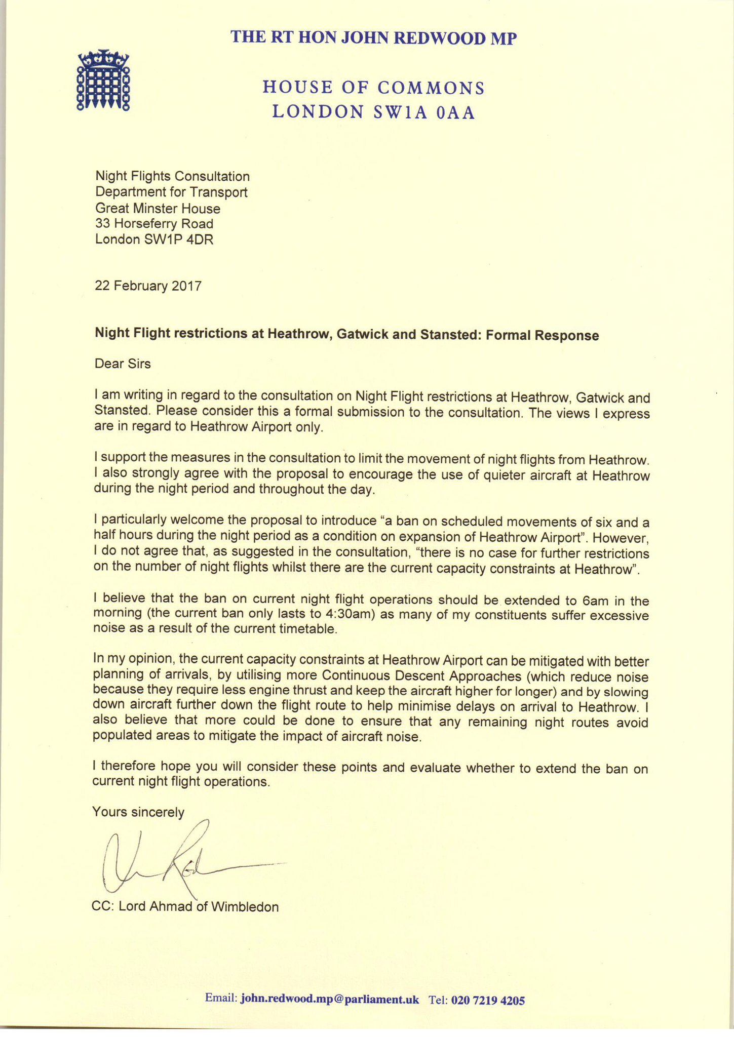 "john redwood on twitter: ""my letter to dft in response to the"