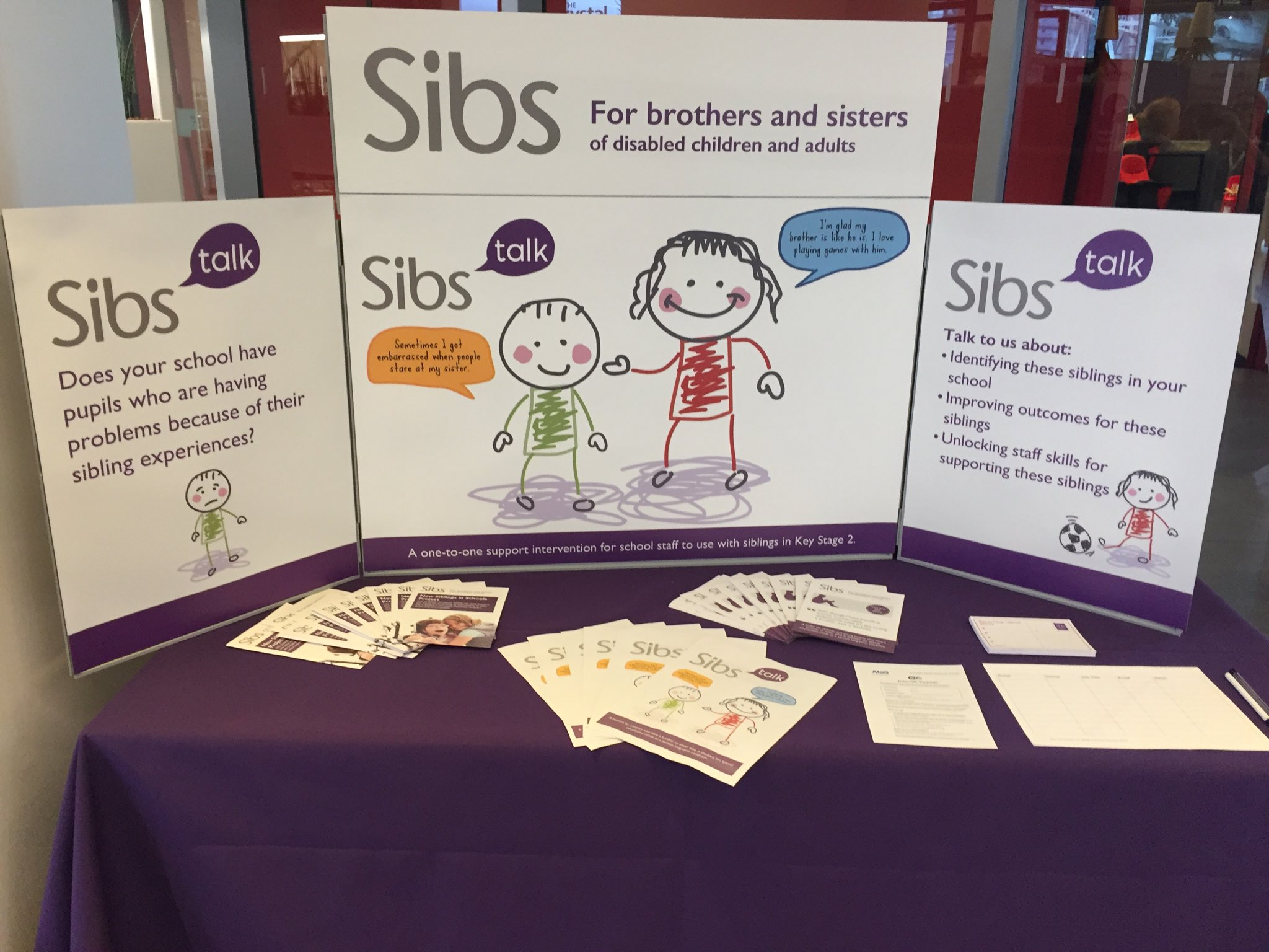 Visit our stand and talk to us about Sibs Talk intervention for primary school siblings at #SENDsummit today https://t.co/es428zpGRp