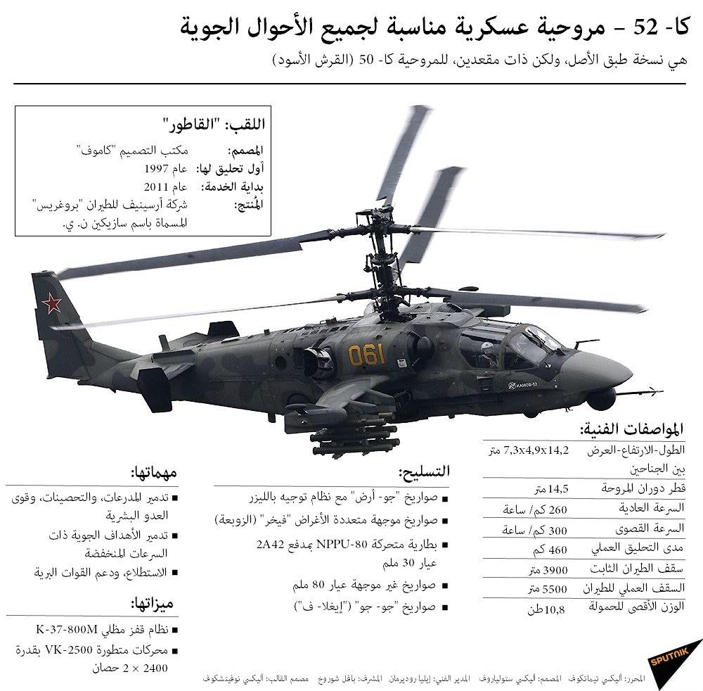 المروحيه الروسيه Ka-52  C5Vl7-iWMAAlAtR
