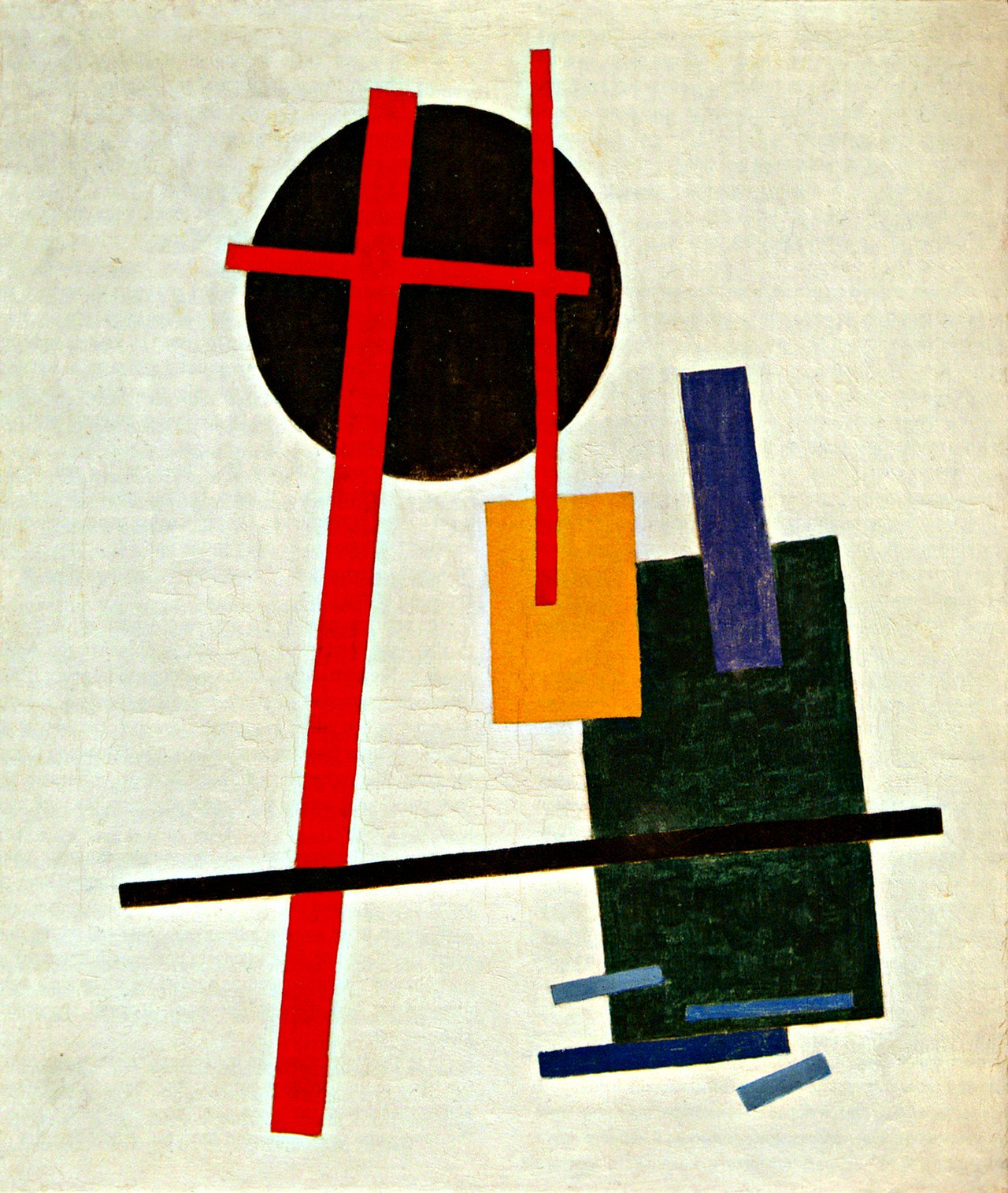 a description of the red square painting by the russian kasimir malevich