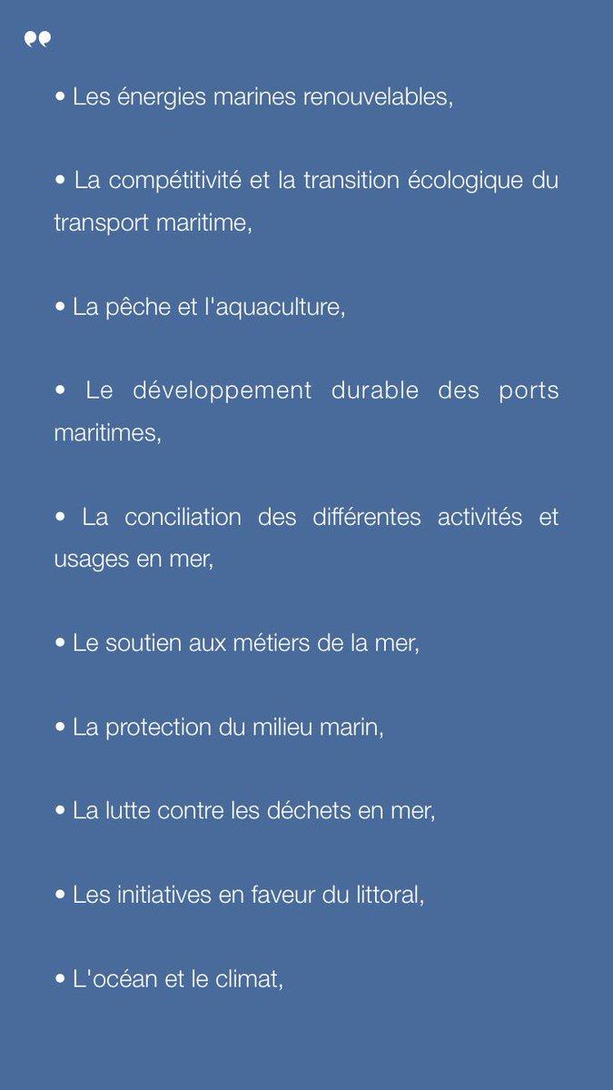[Semaine bleue] Les 10 thèmes de mon plan d&#39;action #CroissanceBleue et #climat pour la mise en place de la Stratégie nat #mer et littoral <br>http://pic.twitter.com/33M23e1a93