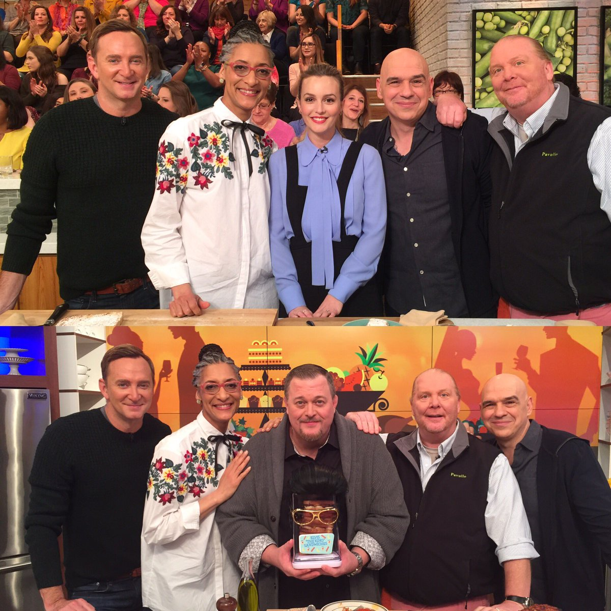 .@itsmeleighton & @BillyGardell stop by today's show and it's ever...