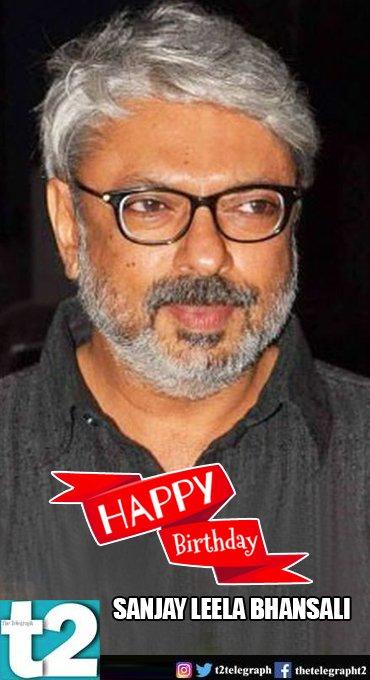 T2 wishes a very happy birthday to Sanjay Leela Bhansali, the man who creates magic on screen.