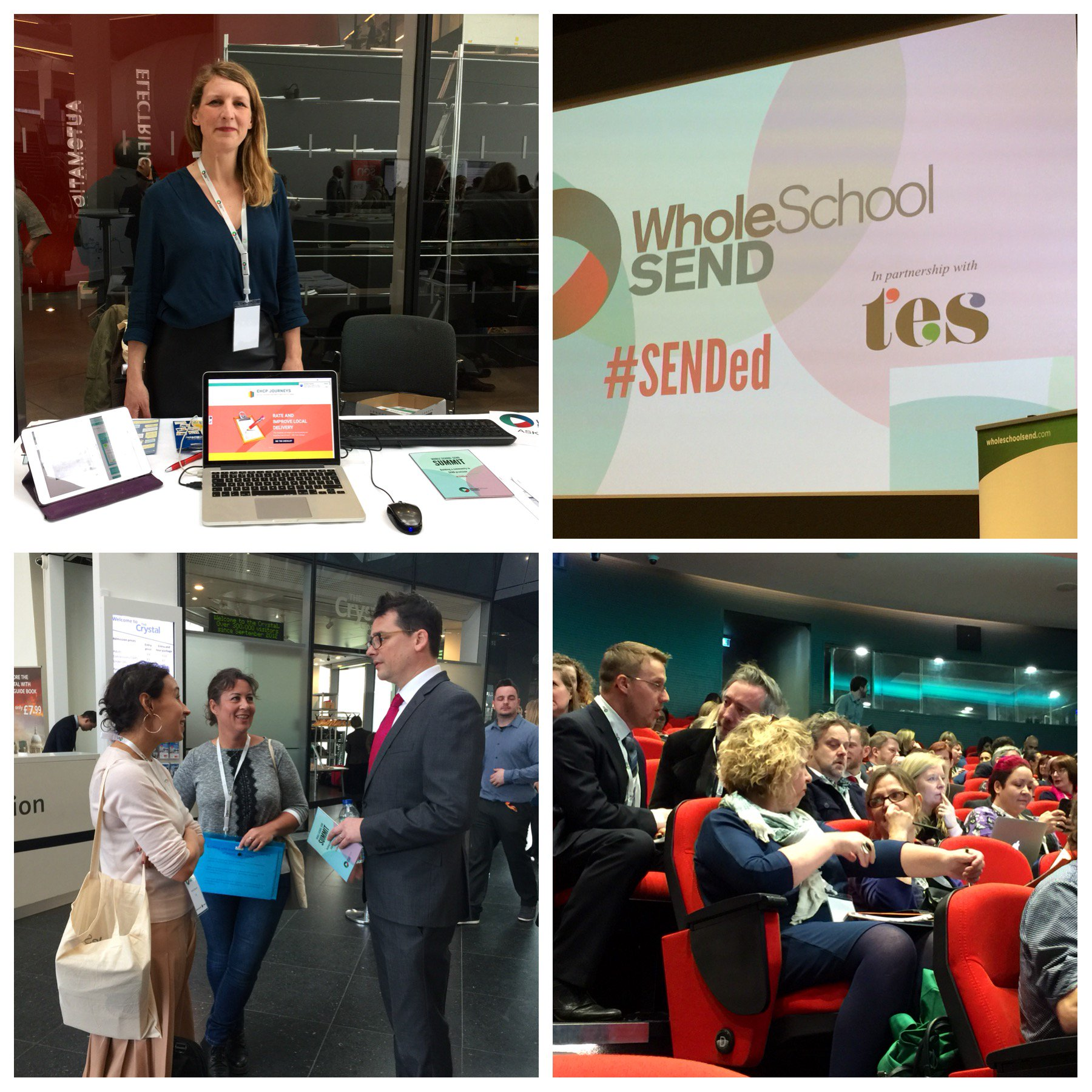 Just getting started at a packed @WholeSchoolSEND #SENDed https://t.co/YbRTebwsWD