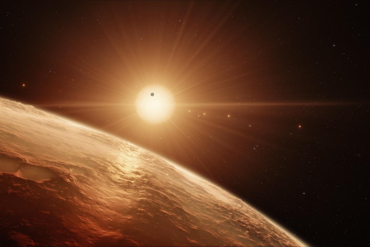With seven Earth-size planets that might all have water, have we just discovered the ultimate system for life? https://t.co/ES6WUL8cOj