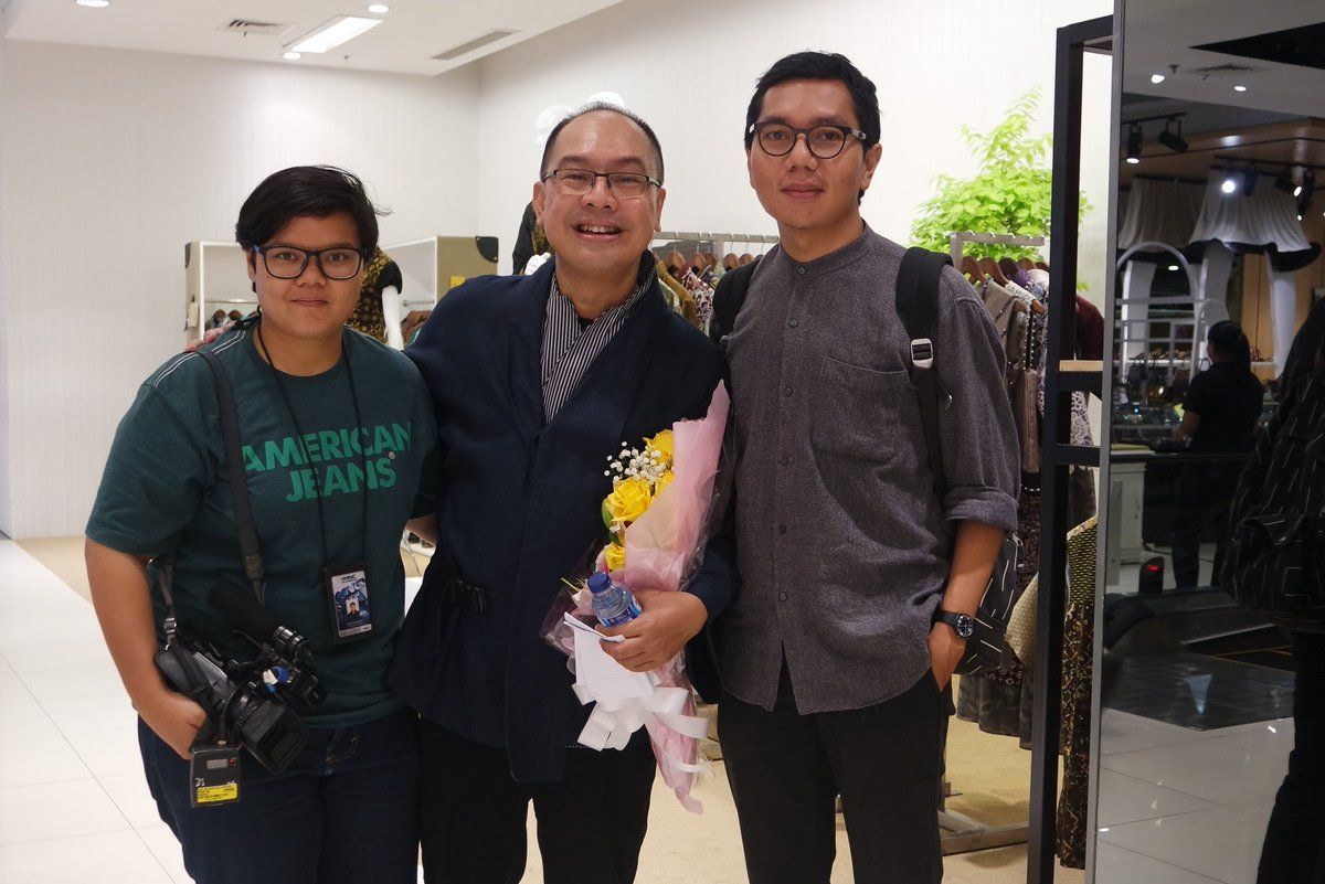 Program Fashion People @MNCFashion. Wawan Soeharto, koreografer fesyen. #MNCFashion https://t.co/xeqzreOmwW