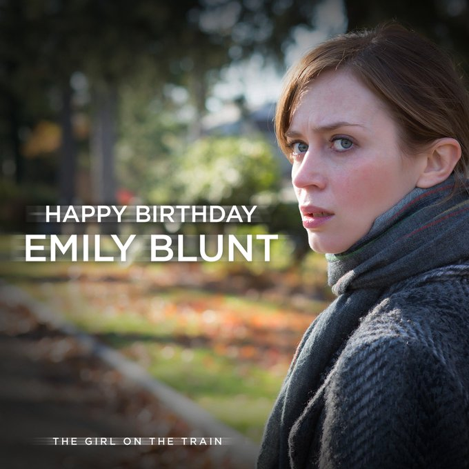 Happy Birthday to Emily Blunt! Catch her in  out now on Blu-ray, DVD and digital download.