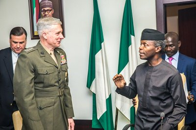 The time has come for Nigeria & US to deepen the long-standing relationship btw them based on mutual trust, according to Acting President Yemi Osinbajo
