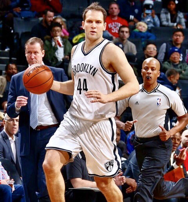 I would like to thank Nets organization and all the fans that support me during these unforgettable two years.I wish you all the best guys.