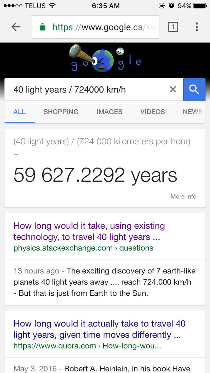 Amazing How Long To Travel 40 Light Years. A Tweets By Christopher Wong Chmwk  Twitter