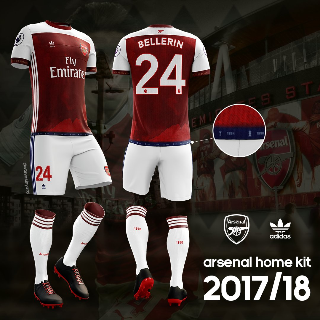 Arsenal New Home Kit Release Date