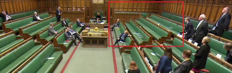 Wow, not a single Labour backbencher has bothered to turn up to the Commons debate about historic prosecutions of British troops.