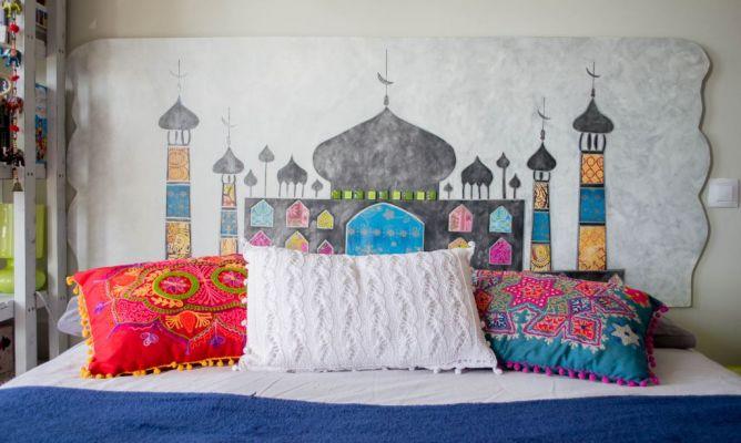 Cabecero Taj Mahal en la Comunidad de Bricolaje