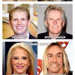 #Trump @realDonaldTrump @KellyannePolls #IvankaTrump #erictrump #bannonpuppet @StephenBannon #withoutmakeup