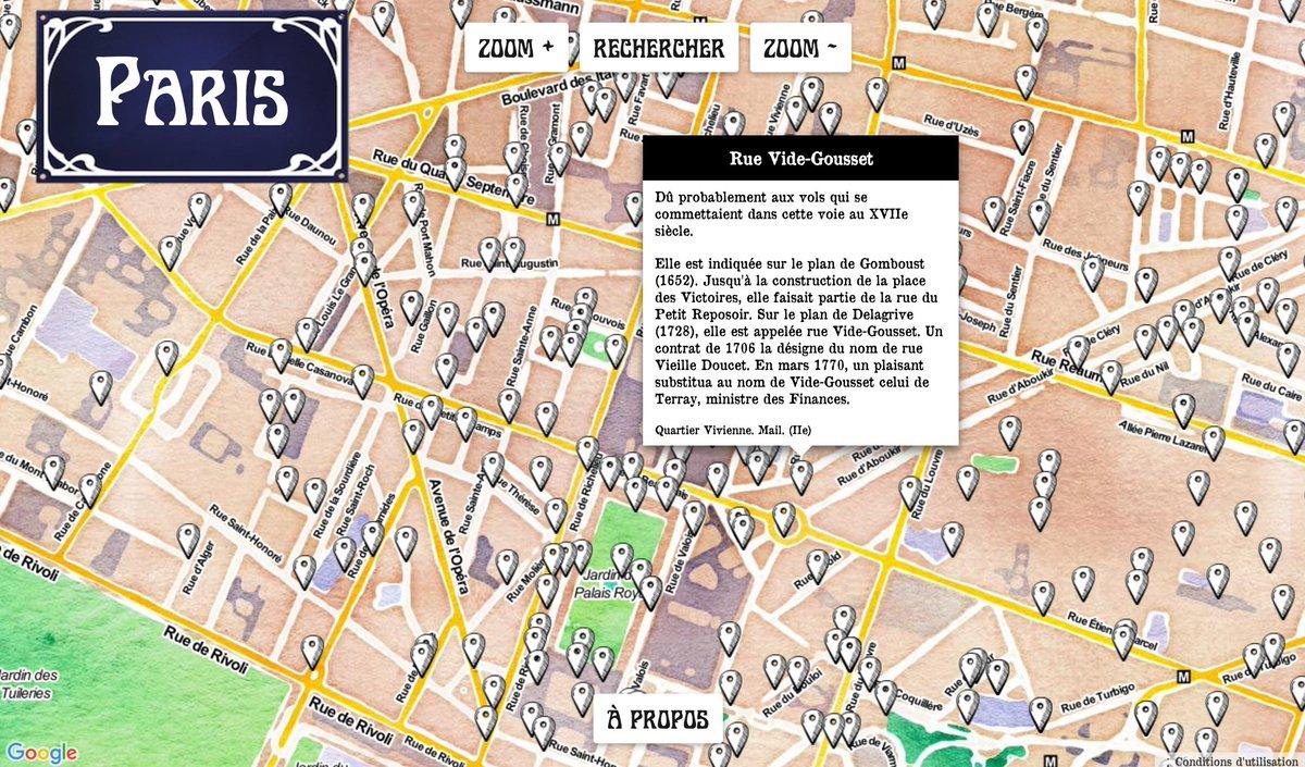 Les #noms de #rue parisiens dévoilés grâce à cette #carte ! #Paris #histoire  http:// urlz.fr/4RjN  &nbsp;  <br>http://pic.twitter.com/Les38gKjIQ