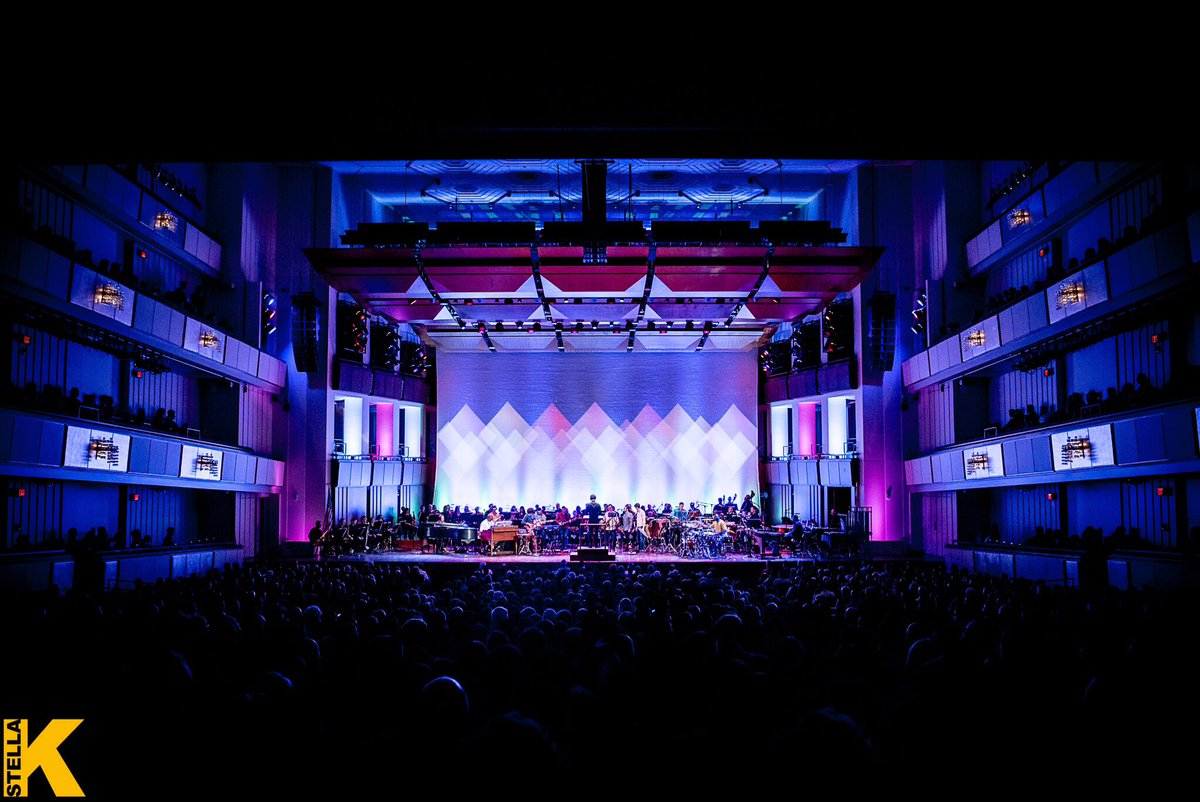 Super fun one last night at @kennedycenter with @NSOtweets! What a crowd. Thank you! (Photo by StellaK)
