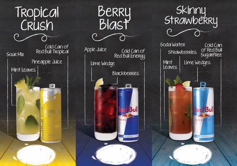 "New York Diner (NYD) on Twitter: ""How about these snazzy @redbull mocktails? Available at our Lazy Sunday Brunch Club! Live music, art and a delicious 3 course brunch.… https://t.co/fT95RToA7U"""