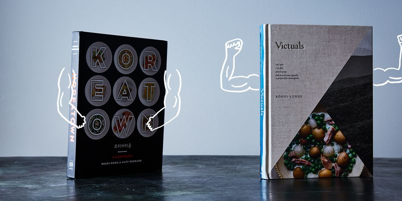 Be warned: you'll want both cookbooks. And lunch! https:// food52.com/the-piglet/jud gments/120-koreatown-vs-victuals … http://pic.twitter.com/5WsgT2fP03