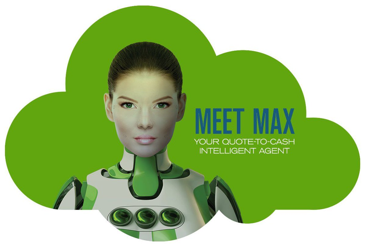 """Quote To Cash Cyril Louis On Twitter """"meet Max At Cebit To Learn More About"""