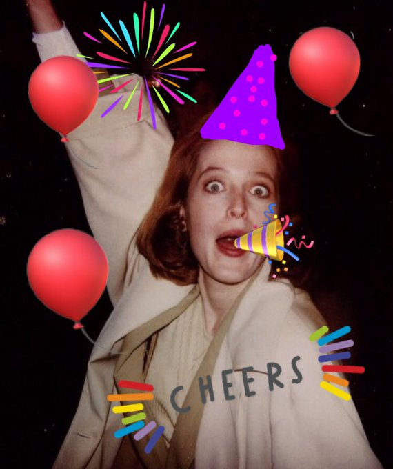 Happy Birthday Dana Scully! Thank you for being an amazing role model!