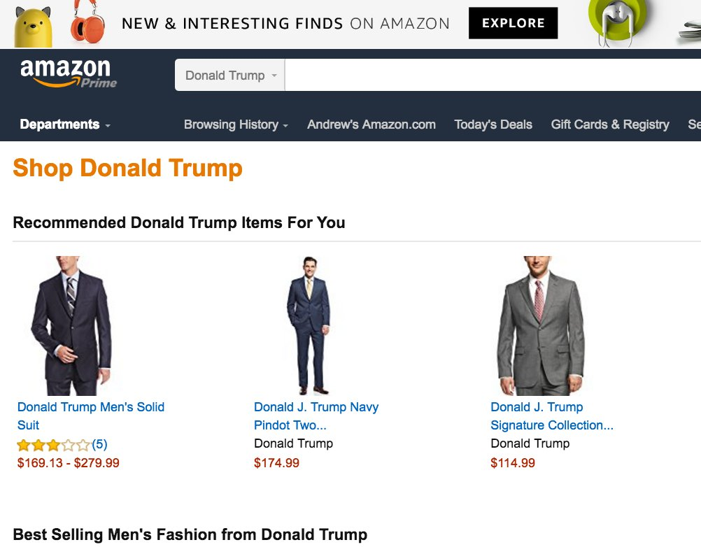 .@amazon How do you justify profiting from the products of an administ...