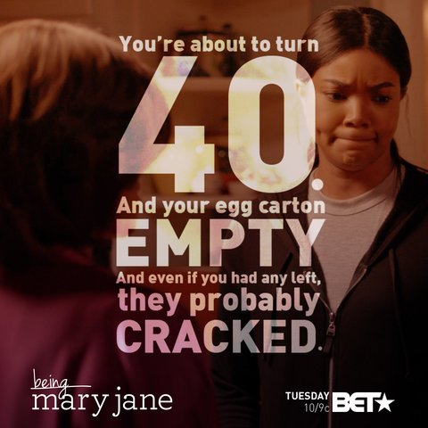 When your mom is savage AF #BeingMaryJane https://t.co/NLiAvNctiM