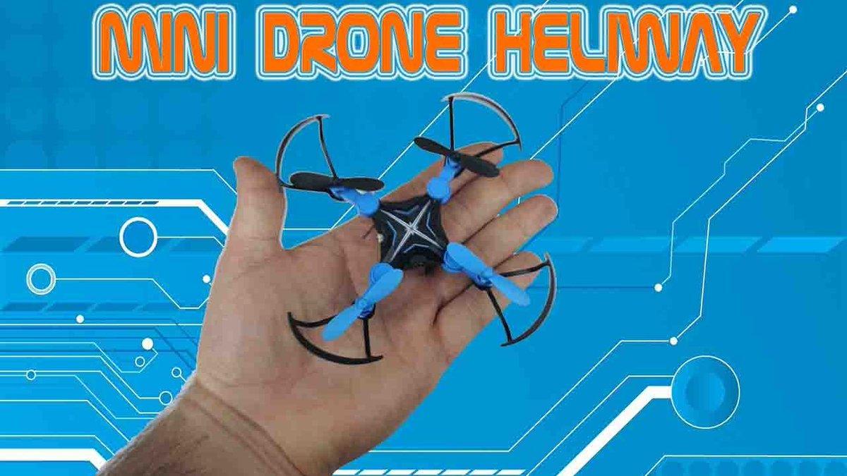 Mini #Drone pliable #Heliway / #TEST - YouTube Vidéo ici :  http:// crwd.fr/2mbYJGr  &nbsp;  <br>http://pic.twitter.com/NnHG1lqwEo