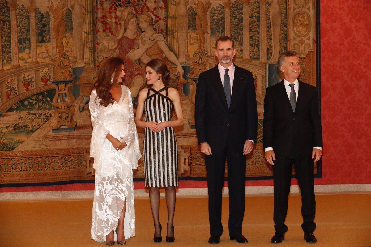 Президент Аргентины устроил ответный прием для королевской четы Испании