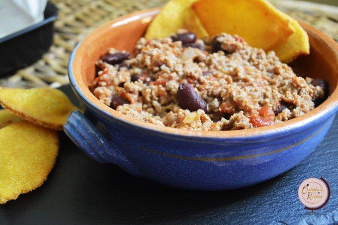 Chili con carne e fagioli rossi
