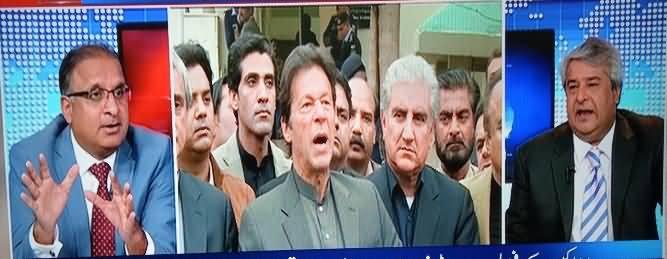 Muqabil  – 23rd February 2017 - Imran Khan Ka Aik Aur Blunder thumbnail