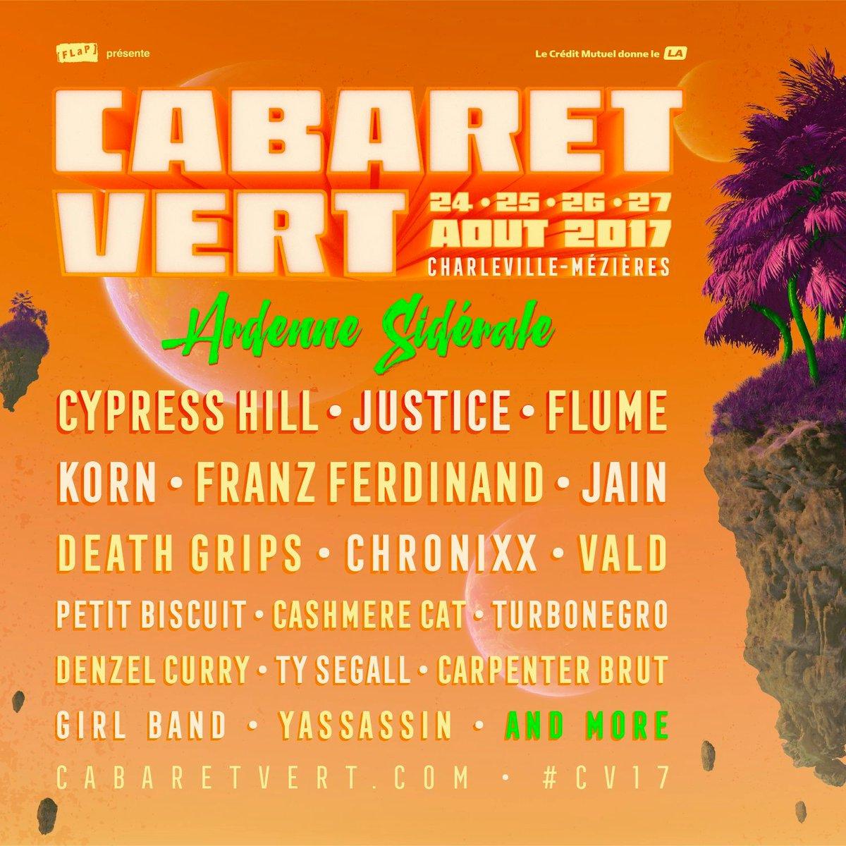 [Preview] Festival le Cabaret Vert –  Charleville-Mézières du 24 au 27 Aout