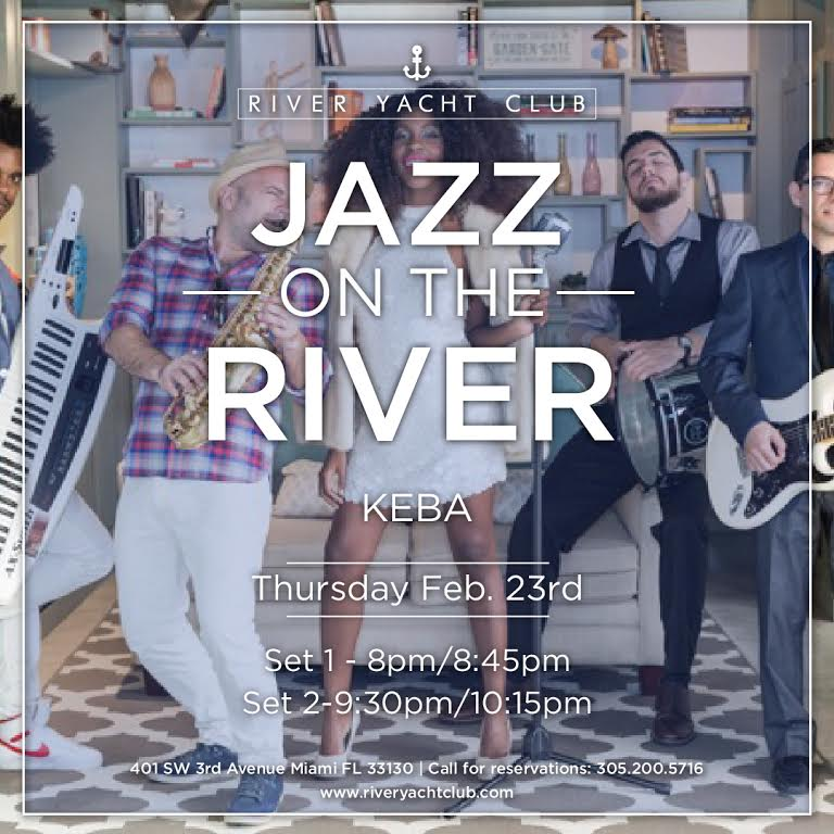 #JazzontheRiver tonight with #Keba Live @RiverYacht #DateNight #RYCMiami  reservations 305 2005716 https://t.co/JbomGb6O3i