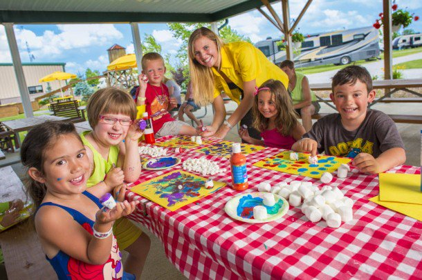 5 Tips for Campground Kid Crafts