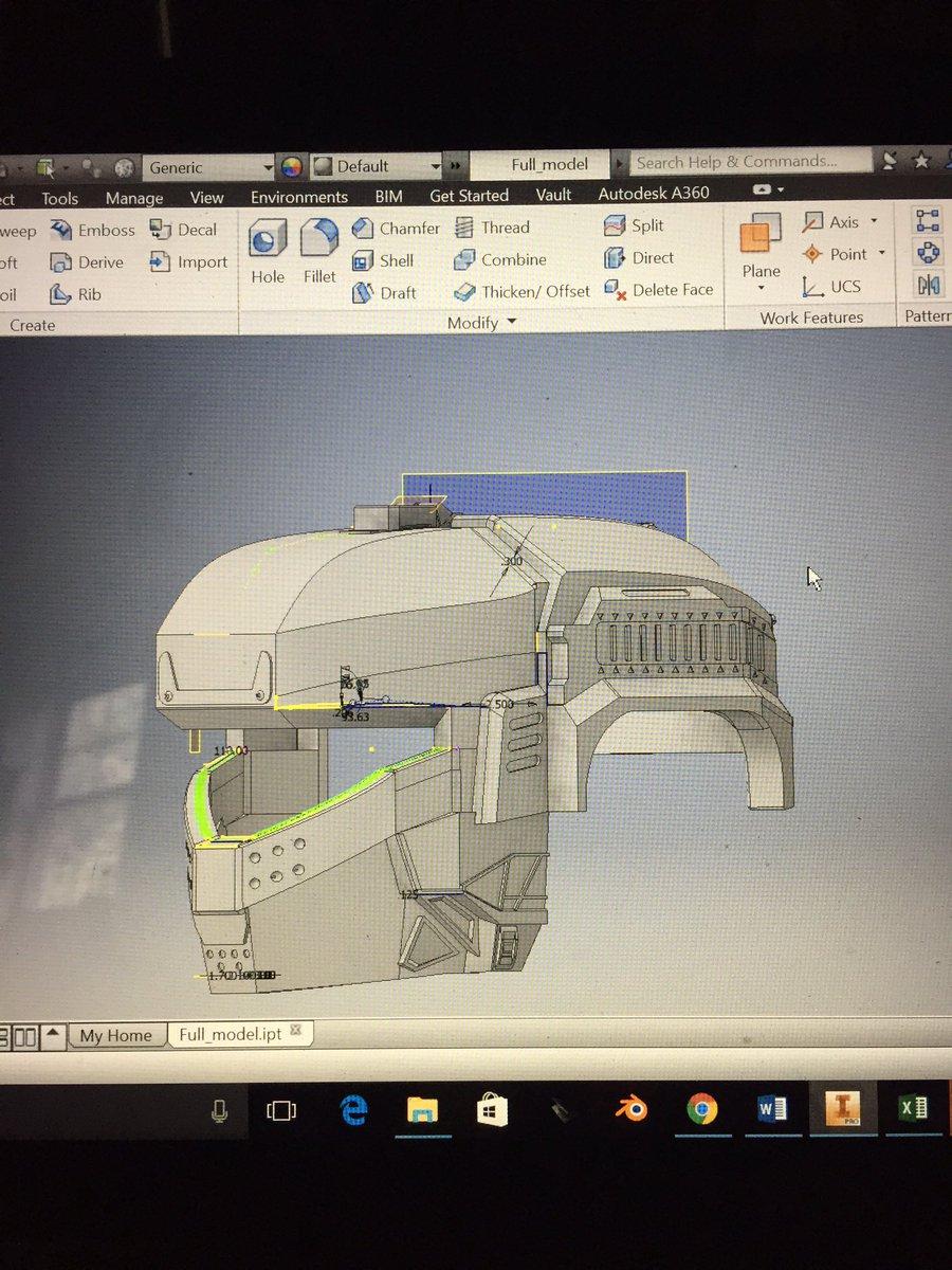 Titanfall Pilot Helmet 3d Print