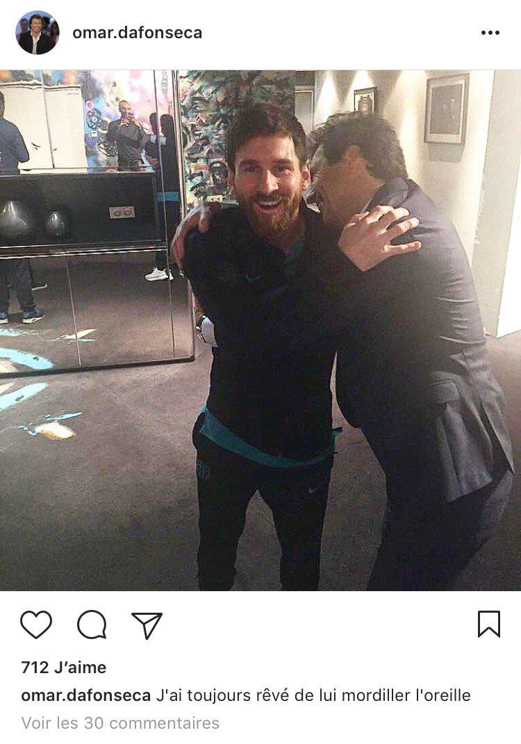 Omar Da Fonseca sur Instagram : 'J'ai toujours rêvé de lui mordiller l...