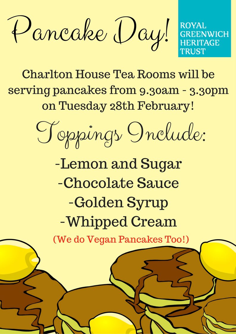 We're celebrating #pancakeday !!! Pop into the tea rooms on Tuesday for a tasty #shrovetuesday tradition 🥞😋🥞😋🥞😋🥞😋