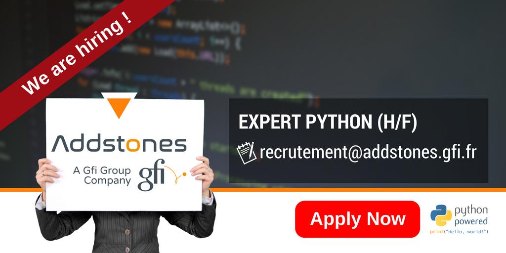 .@Addstones recrute un expert #python à New York (H/F) !  Candidater via :  http:// bit.ly/2mpcgK3  &nbsp;   #I4emploi #tech #startup #Digital #Web <br>http://pic.twitter.com/qJRjNZQTlM