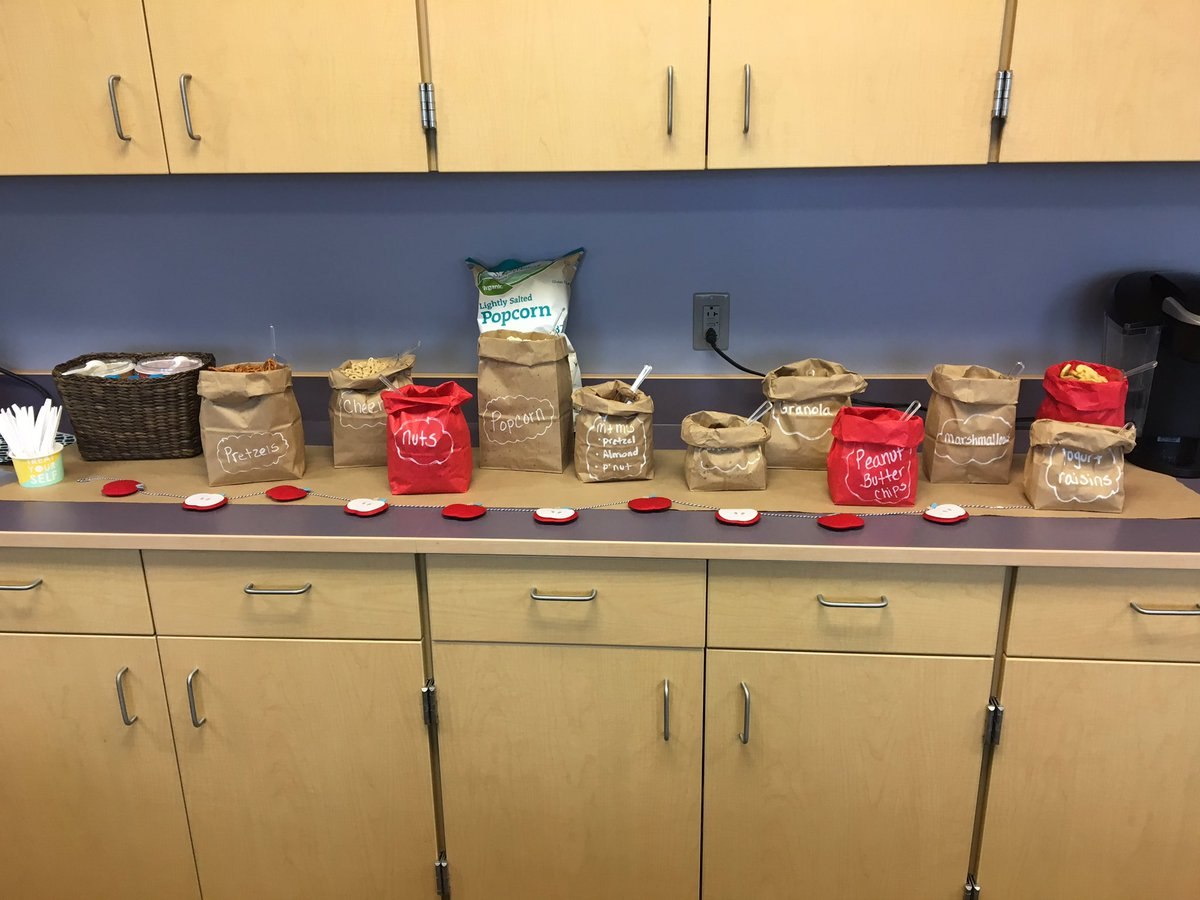 Grateful to our fabulous @LkwdHayes #PTO for providing this yummy treat - build-your-own trail mix! @LkwdSchools #RangerPride<br>http://pic.twitter.com/JBKmQ0X4zn