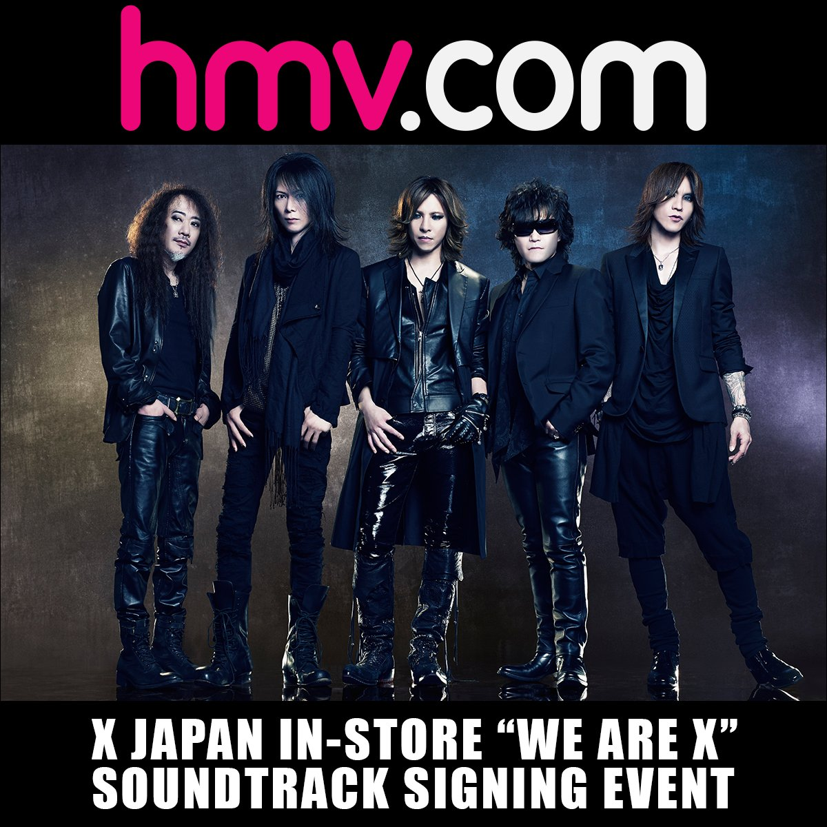 #XJapan in-store #WeAreX soundtrack signing event at HMV #London Friday March 3! #Wembley Arena concert March 4!  http:// hmv.co/XJapan  &nbsp;  <br>http://pic.twitter.com/dupNxGVWKr