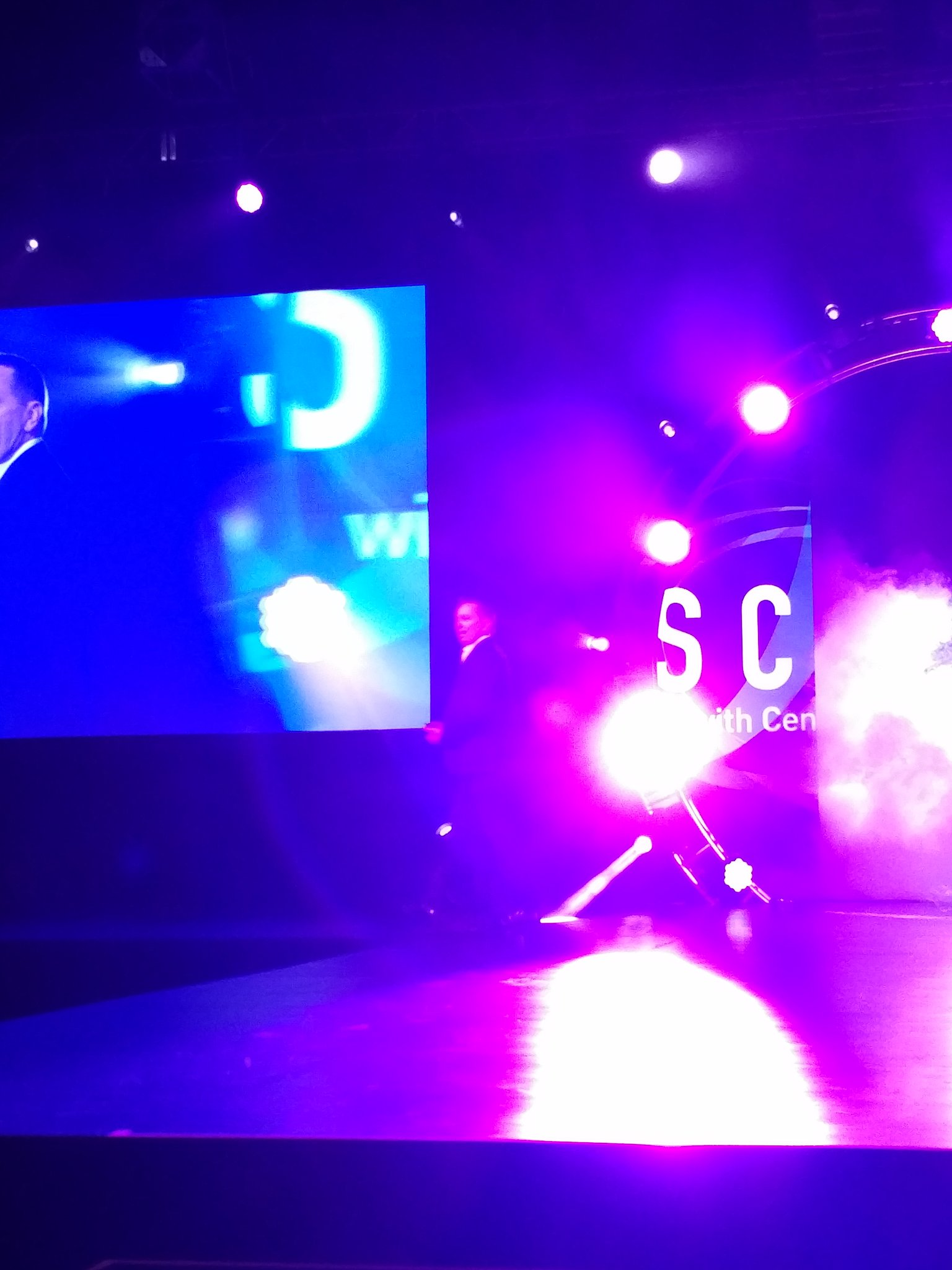 And a Rockstar entrance for Corbin, @CenturyLink Alliances leader, opens #CenturyLinkAscend https://t.co/DOvMeAQRce