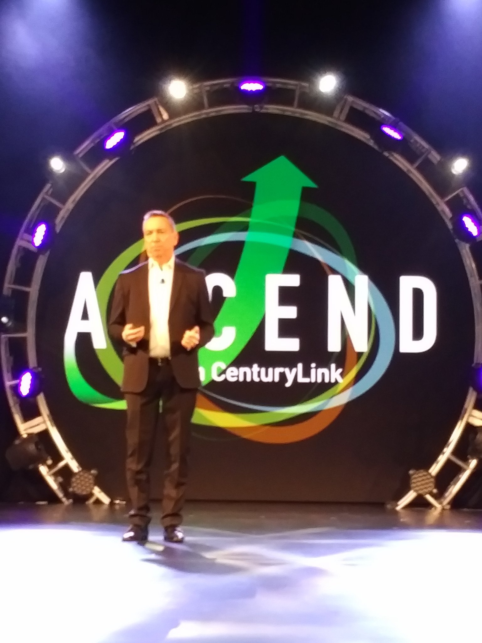 Corbin - We want velocity with our partners - to monetize faster and more #CenturyLinkAscend https://t.co/DJ2TzcKswG