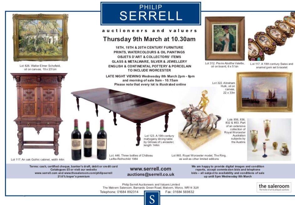 an auctioneer s lot serrell philip