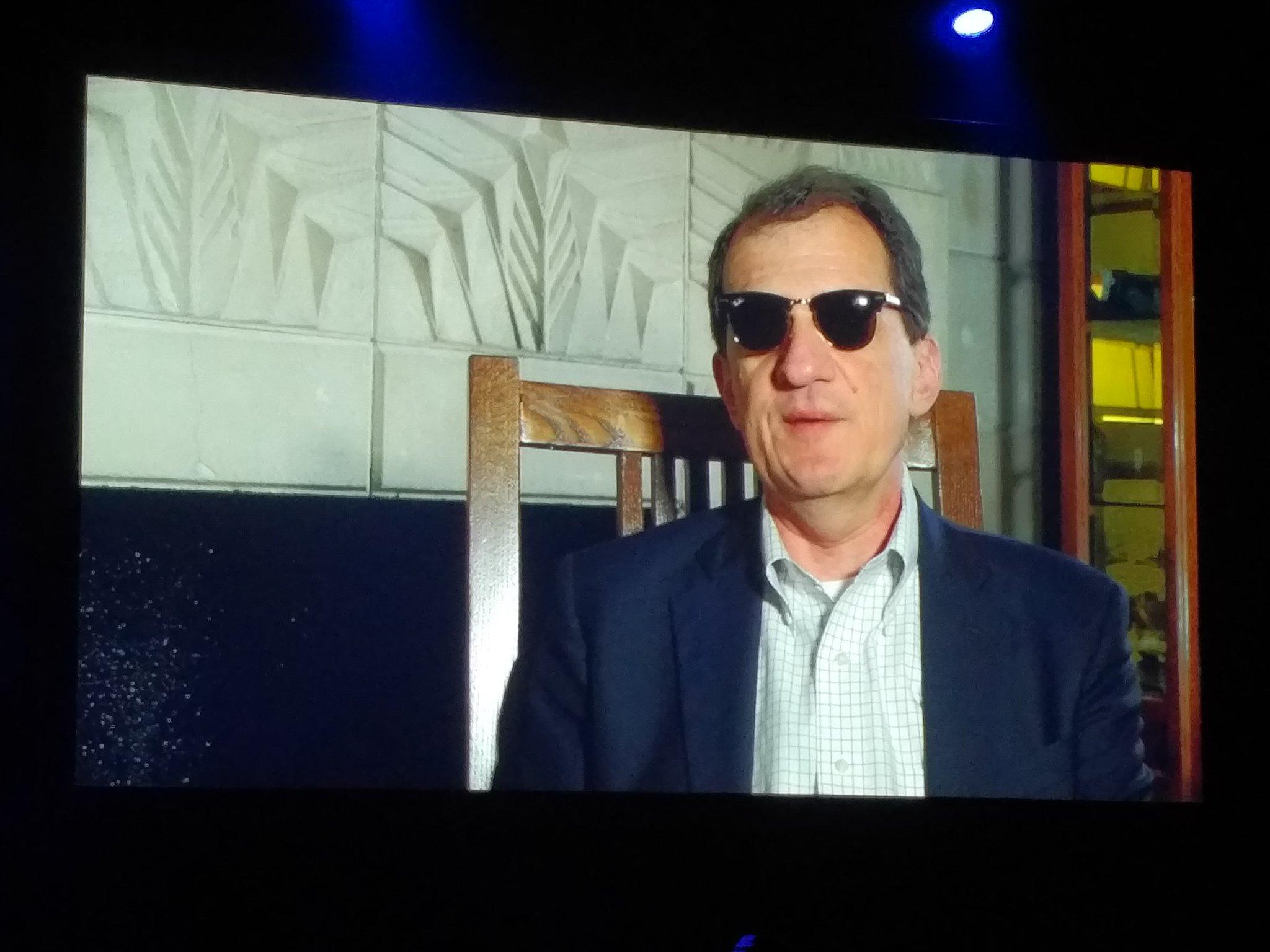Dean Douglas - video intro -  Rockstar or Godfather? #CenturyLinkAscend https://t.co/o8FtFkP23B