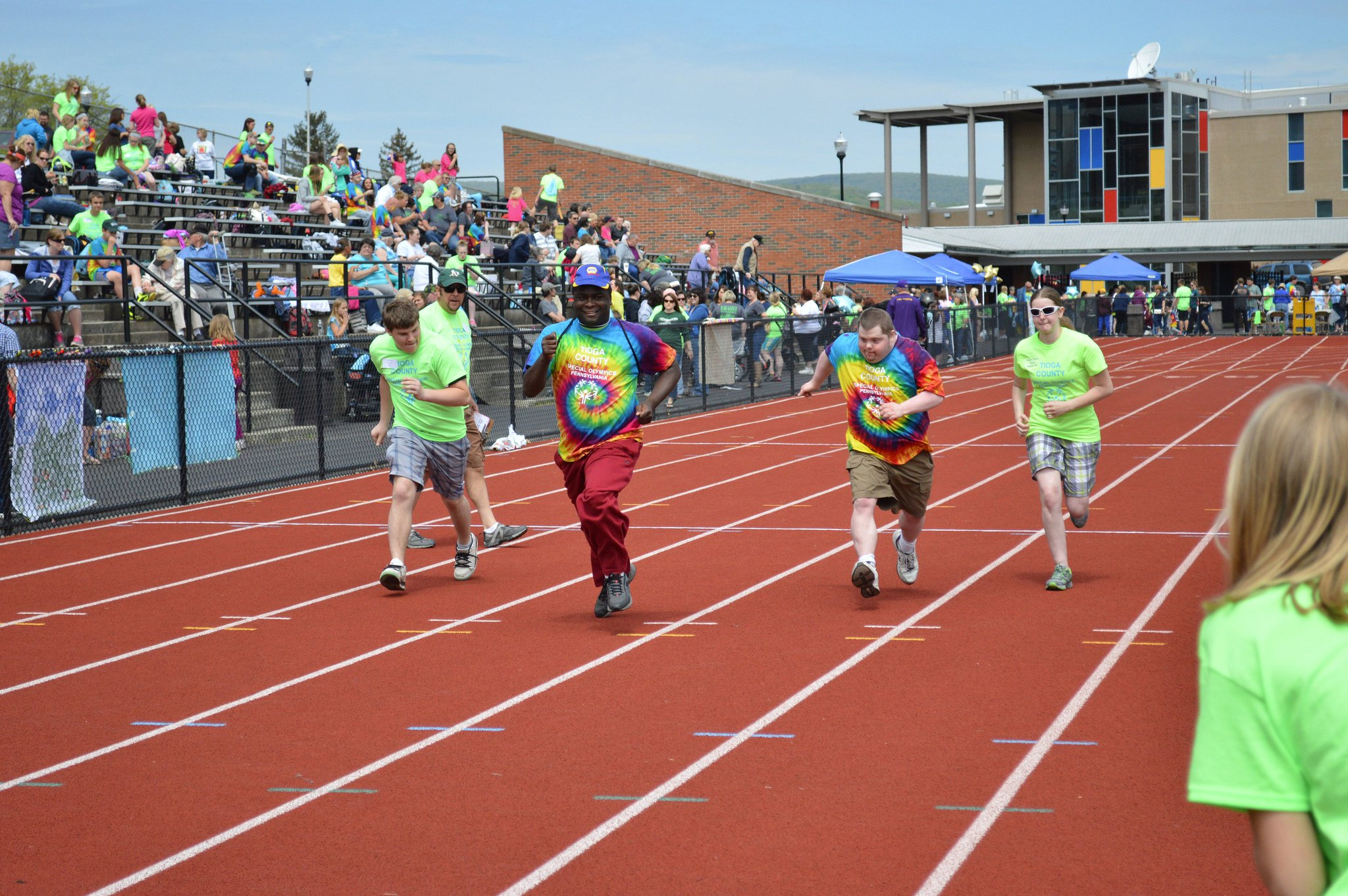 Mansfield University's Van Norman Field hosts the Tioga County Special Olympics each year #InvestInMU #InvestInOURUniversities #fundPAfuture https://t.co/z8EkCjExuK