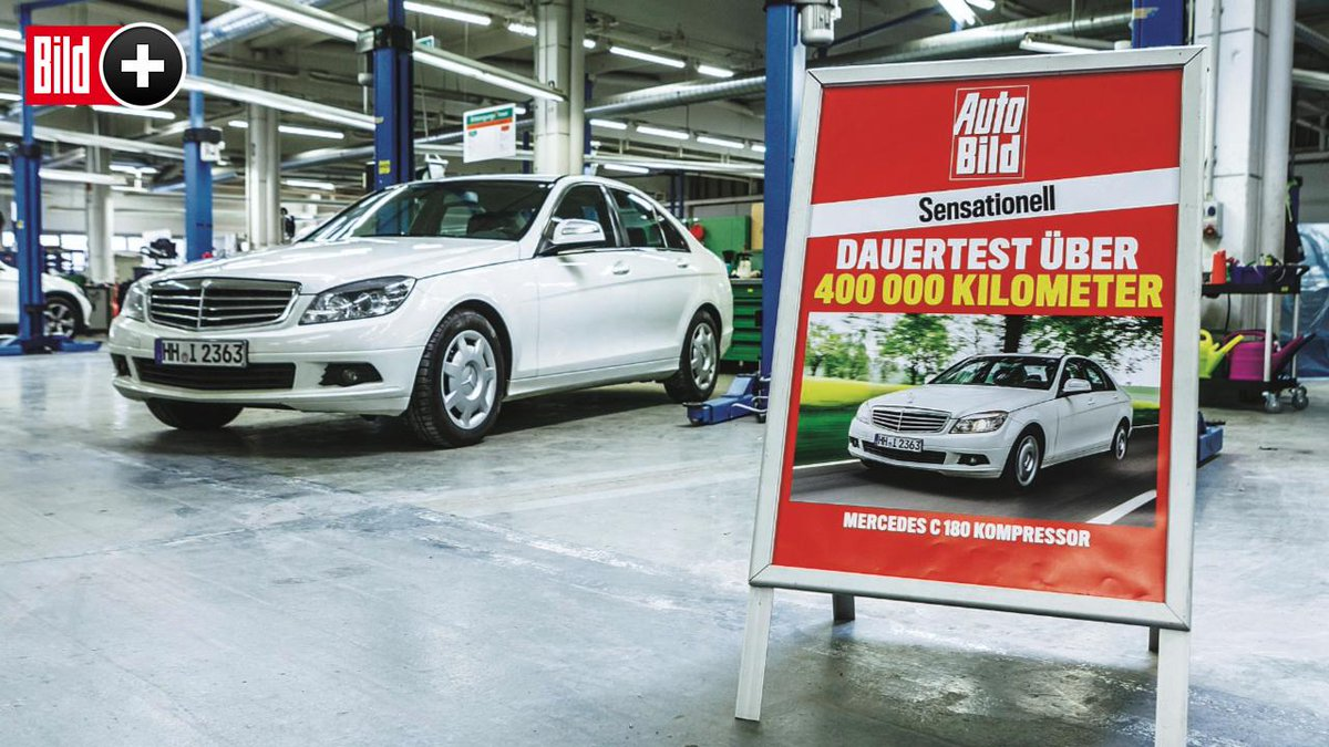 d819b0f315b6ed BILDplus Inhalt     Dauertest  Mercedes C 180 K - Sensationell  Der ewige  Benz ...