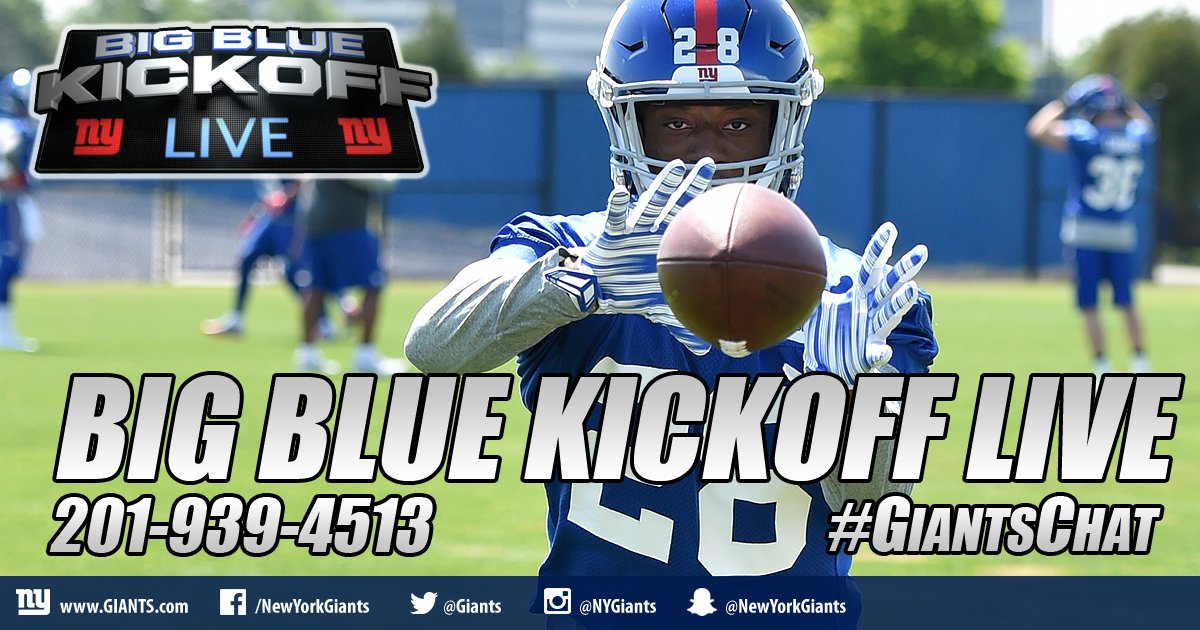 BBKL starts momentarily with @lancemedow and I on @giants.com as we continue to delve into free agency and the draft. Call in! #giantschat <br>http://pic.twitter.com/J8KxSBawJJ