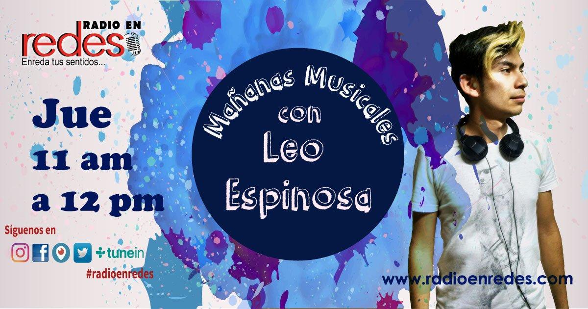 Al aire @neellodsg con #MañanasMusicales por #RadioEnRedes #RadioEnRedesAtlixco #Tunein  https:// goo.gl/bLwkWK  &nbsp;  <br>http://pic.twitter.com/CAsKPbyiwE