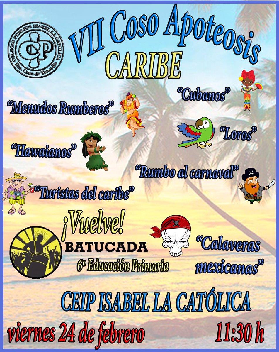 Viernes 24 a las 11:30 en #cabalgata #carnaval de @colegioelcabo @EducacionCan @SCenCarnaval @Protecivilsctfe @veronicamepi @YolandaMoline<br>http://pic.twitter.com/LjQGk0n2Ad